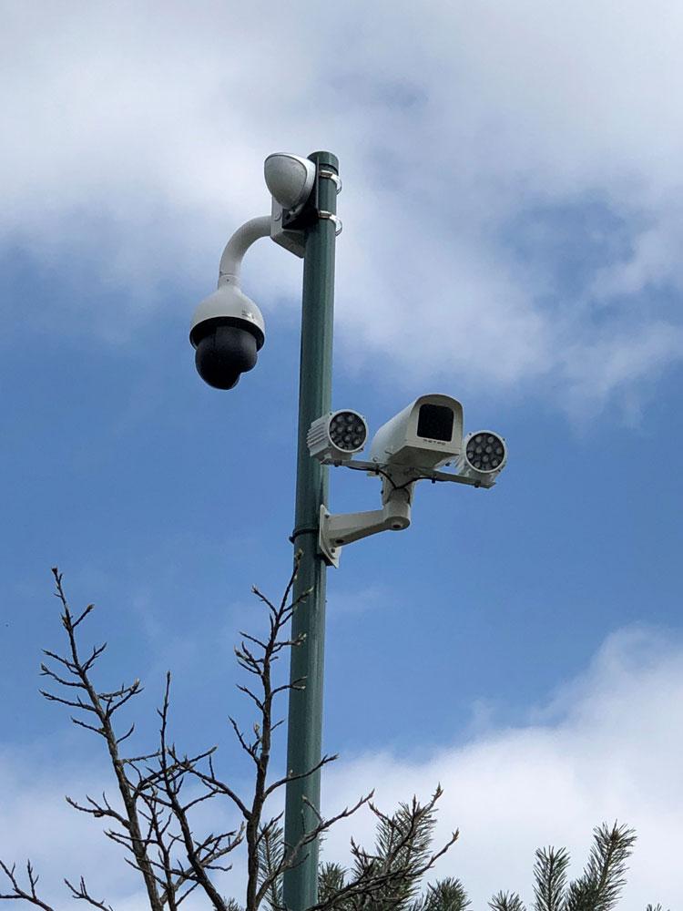 Advanced high resolution CCTV and digital recording